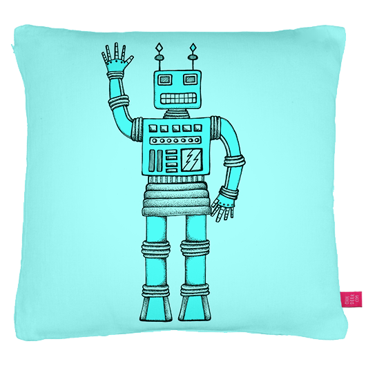 Bernard Bot cushion on Ohh Deer, click the image to be directed