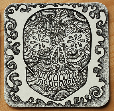 Day of the Day Beermat Design