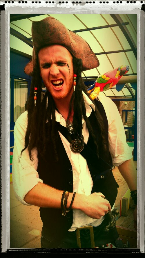 Pirate Mr Collins