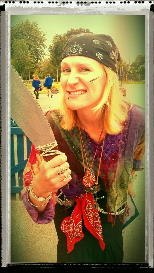 Pirate Mrs Spicer