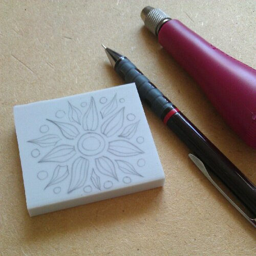 Rubber Stamp Carving I