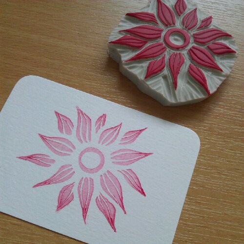 Rubber Stamp Carving IV